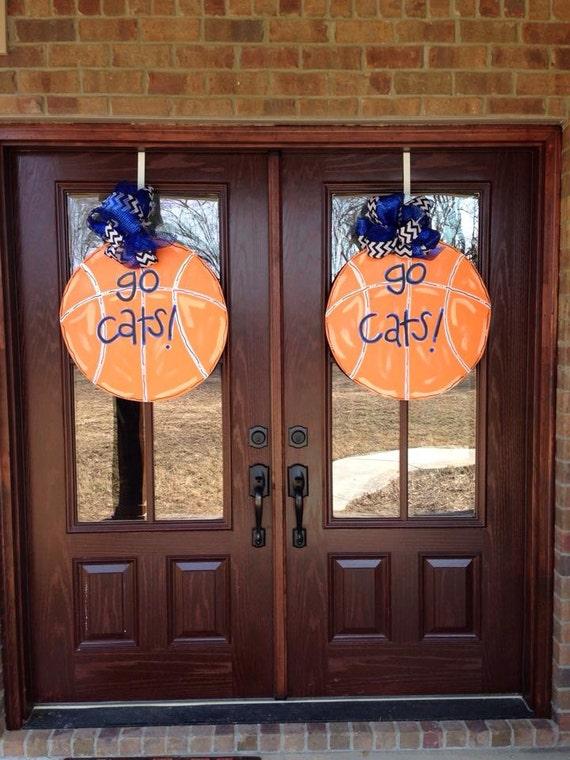 Items Similar To Custom Basketball Door Hanger Kentucky