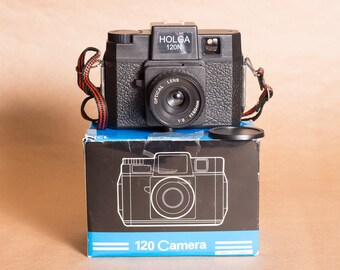 "Holga 120n ""toy"" medium format film camera"