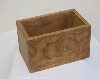 CD boxes: cherry or walnut