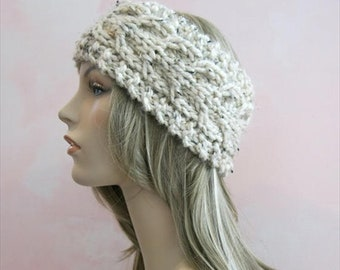 how to wear knit headband