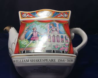 Shakespeare Romeo and Juliet Collectable Teapot