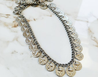 Roman Coin Embellished Chain // 1 PC