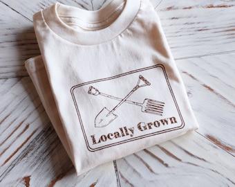 Kids Tshirt - Organic Cotton Toddler Shirt - American Apparel Kids Shirt - Screenprint Tshirt - Toddler Tee - Hipster Kids Clothes - Toddler