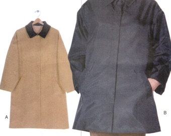 Vogue sewing pattern - A-line coat or jacket - Size XS-XL