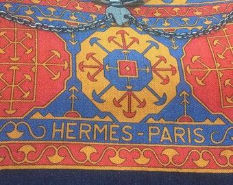RARE Hermes Arabia Scarf silk+cashmere
