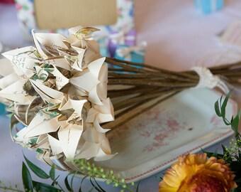 Package - Vintage Origami Wedding Flowers