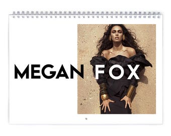 Megan Fox Vol.1 - 2018 Calendar