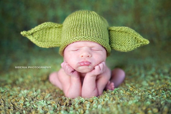 How To Knit A Baby Yoda Hat