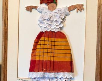 Folk Dancer on Canvas