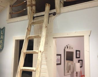 Library Loft Ladders - BY THE STEP - Custom Made to fit perfectly! Free StarDust this month!