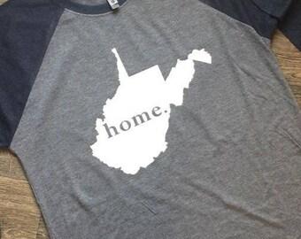 West Virginia Home Raglan