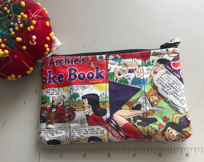 Zippered Pouch - Archie Andrews vinyl coin purse/change purse
