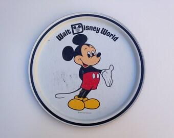 Disney World Mickey Mouse Tray