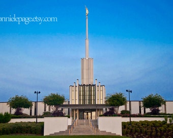 Atlanta, GA LDS Temple, Summer