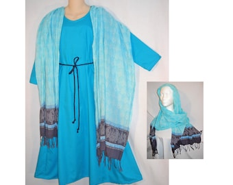 Size 10 Girl's Christmas Nativity Play Costume Innkeeper's Wife or Biblical Woman BUDGET