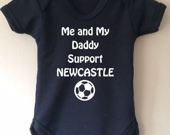 Me and My Daddy Support Newcastle - baby body/bodysuit