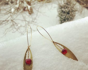 """Earrings """"Heart"""""""