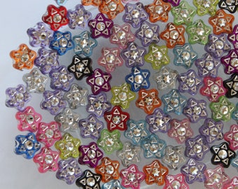set of 10 beads form star