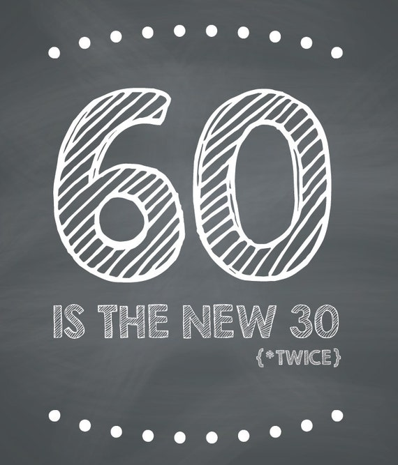 Funny 60th Birthday Card Printable