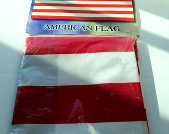 Vintage American Flag Never Out of Package