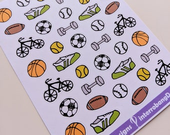A147 - Sports (Variety) - Planner Stickers
