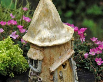 Fairy Cottage with Heart Door