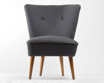 Minimal Coctail Chair from 70's - restored (L size)