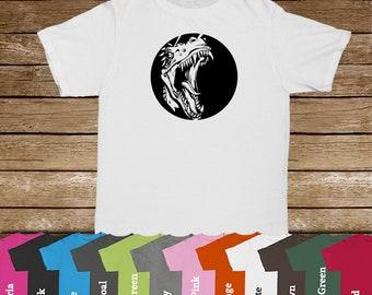T-Rex Family Tshirts/Dinosaur Lover/T-Rex/Dinosaur Tshirt/Kids Tees/Jurassic/Tyrannosaurus