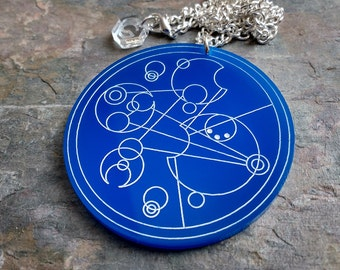 Customisable Gallifreyan Necklace