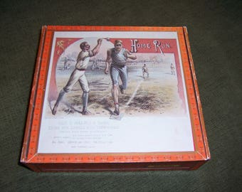 Home Run Cigar Box Baseball Stadium