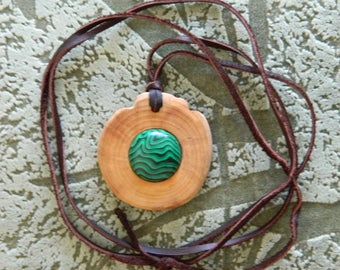 Cedar etsy strong cedar talisman reinforced with malachite high curative and protective properties wild siberian aloadofball Image collections