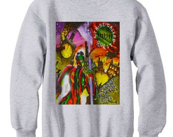 a tribe called quest marauders atcq wu tang instinct low end - fleece sweatshirt sweater grey 965Gn