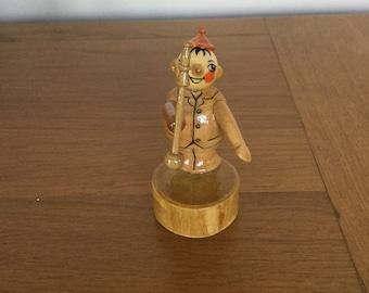 Wooden Figure Pencil Sharpener