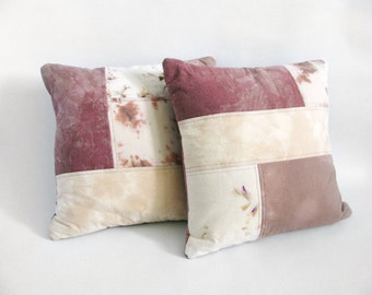 Blush Patchwork Pillow Set
