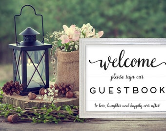 Welcome Please Sign Our Guestbook Printable. Welcome Please Sign. Please Sign Our Guestbook. Sign In Book. Sign Our Guestbook Sign.
