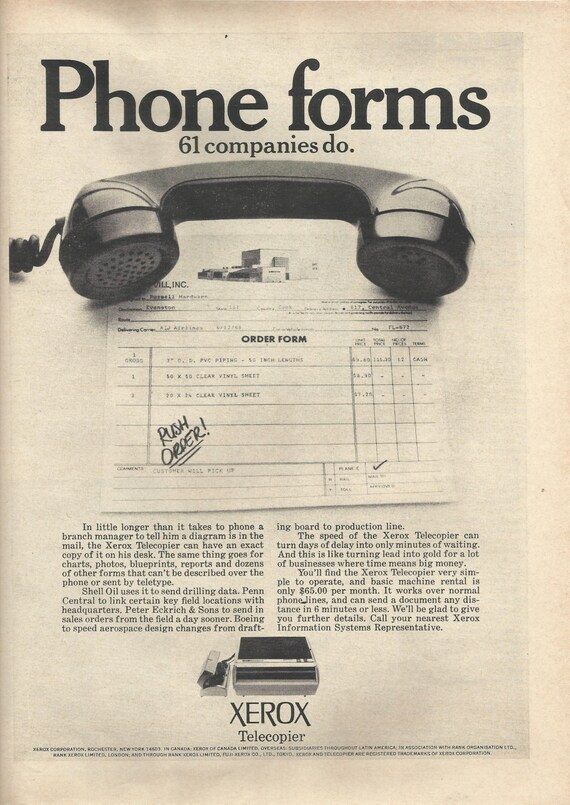 Items similar to Xerox Telecopier Fax Original 1968 Vintage Print Ad on brother order form, oracle order form, asus order form, sony order form, frito lay order form, manufacturing order form, microsoft order form, quantum order form, cbs order form, at&t order form, ups order form, tlc order form, digital order form, ebay order form, mesa order form, pitney bowes order form, pfizer order form, dr order form, lincare order form, nestle order form,
