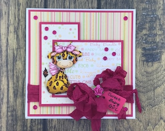 Baby Giraffe Card