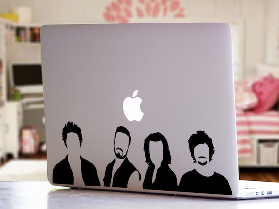 One direction band inspired silhouette music band pop culture