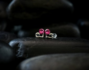 Sweet Romantic - Swarovski Crystal earrings finished in lustrous Rhodium finish