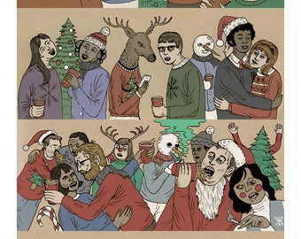 Christmas Party 11x17 print