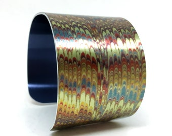 Artistic Cuff - Cuff Bracelet - Zig Zag Bracelet - Statement Bracelet - Simple Bracelet - Cuff Bracelet - Ebru
