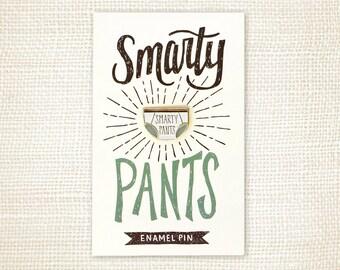 Enamel Pin, Graduation Gift - Smarty Pants
