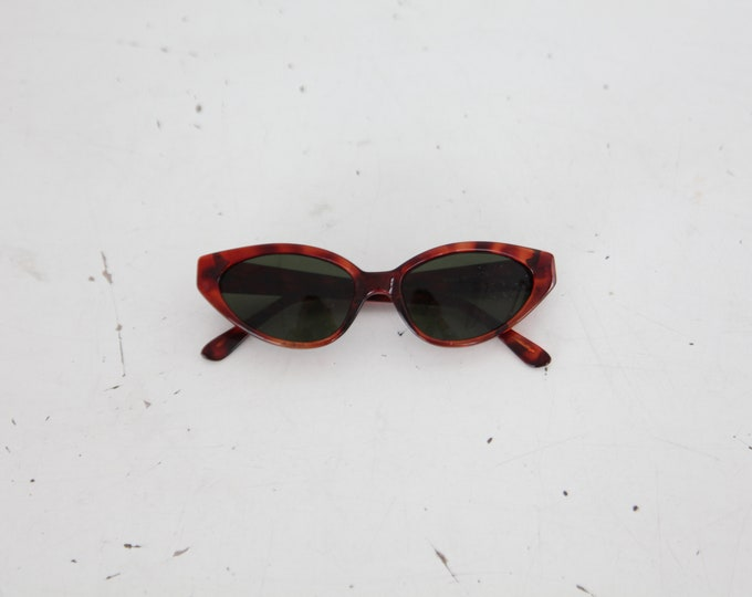 1980s Sunglasses - tortoise