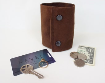 "NEW"" Secret Stash"" for a Credit Card and your money, jewels, health info etc inside a Secret Hidden  Zipper."