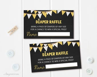 Diaper Raffle Tickets, Diaper Raffle Sign, Chalkboard Baby Shower Diaper Raffle Tickets ,Diaper Raffle Cards, Digital file,#A08