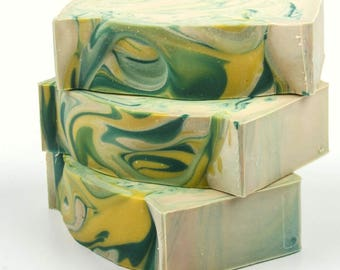 Lemon Verbena Soap - Natural Soap - Handmade Soap - Cold Process Soap - Vegan Soap - Shea Butter Soap