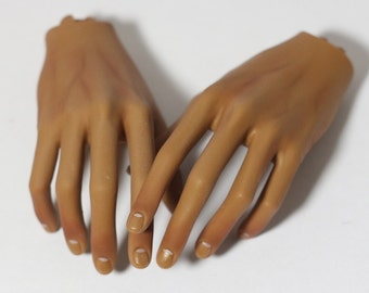 60 cm and higher BJD Hands or Feet Blushing - Commission Additional Service