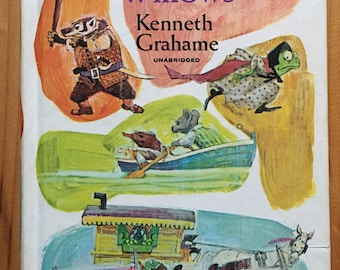 The Wind in the Willows, Kenneth Graham, illustrated by David K. Stone, Golden Press, 1968
