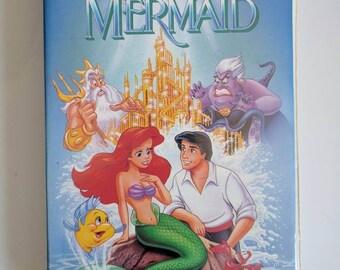 Disney's Black Diamond Collection The Little Mermaid VHS