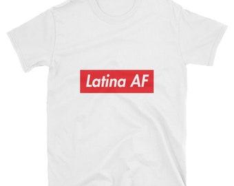 Latina AF   Festival crop top   Latina's   Cinco de mayo   Hispanic   top tee